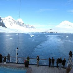 Hot day for Antarctica