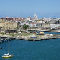 View of San Juan from the ship