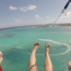 Parasailing in Nassau with Adventure Parasail