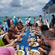 Catamaran and Lobster party cruise.