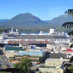 cruise on Rotterdam to Alaska