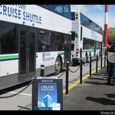 Shuttle to town Victoria