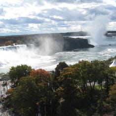 Niagara Falls--#1 reason we booked this cruise tour