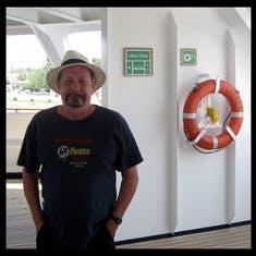 On board the Zaandam
