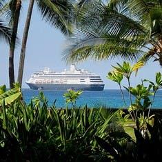 cruise on Zaandam to Hawaii