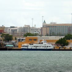 View from water taxi - San Juan