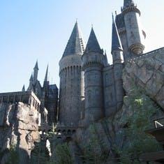 Hogwarts at universal studios islands of adventure