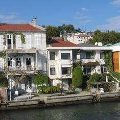 Homes on the Bosphorus--Near Istanbul