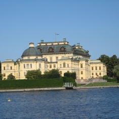 Royal summer palace--Stockholm Sweden