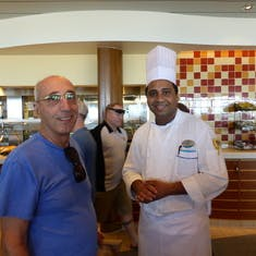With Head Chef